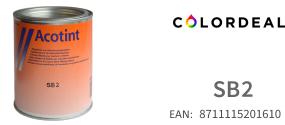 1 ltr Acotint colorant SB2 - Blue 2