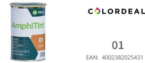 1 ltr DAW - Color Express -AmphiTint - 01 - Oxid Gelb