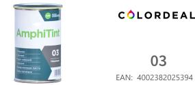 1 ltr DAW - Color Express -AmphiTint - 03 - Ton Schwartz