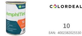 1 ltr DAW - Color Express -AmphiTint - 10 - Rein Orange