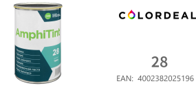 1 ltr DAW - Color Express -AmphiTint - 28 - Turkis